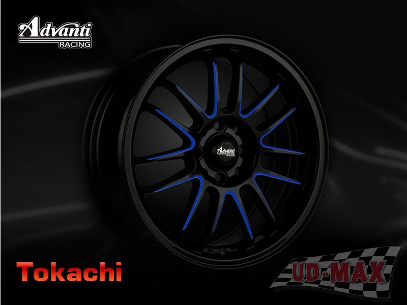 ADVANTI MI539_Tokachi_update color Black /Blue Line