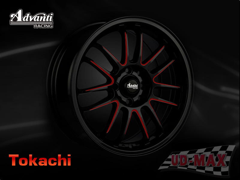ADVANTI MI539_Tokachi_update color Black /Red Line