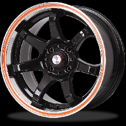 แม็กซ์ P&P Superwheels GTR-7 15Inch