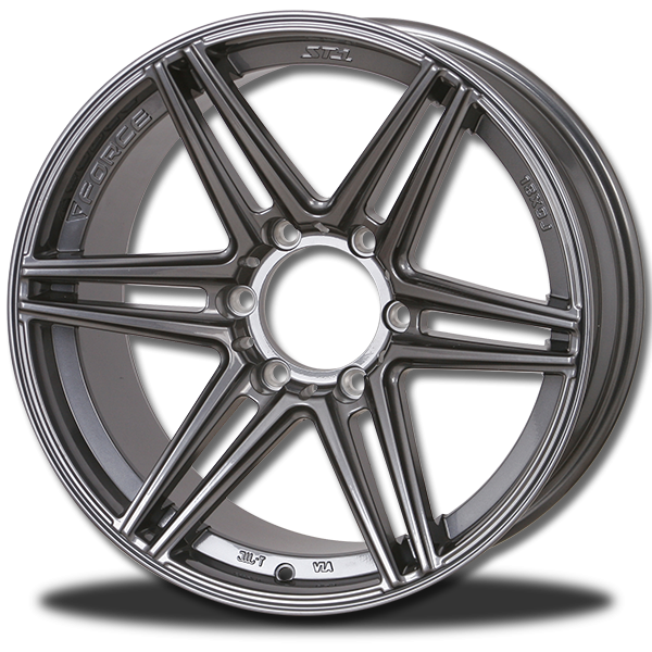 P&P Superwheels ST-1 18Inch color MB, HB, GM, BRONZE