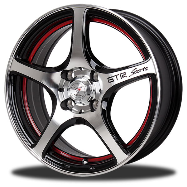 P&P Superwheels S-Five color R/BP