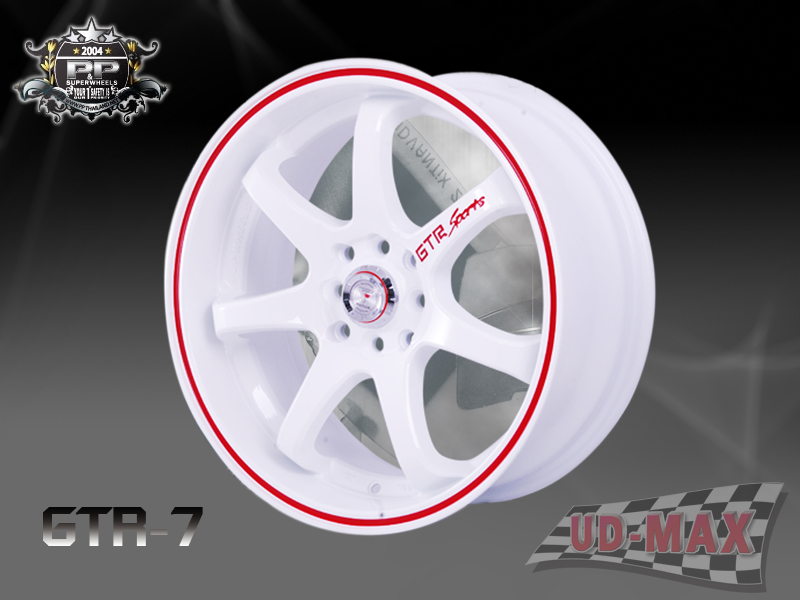 GTR-7 color White /Red Lip