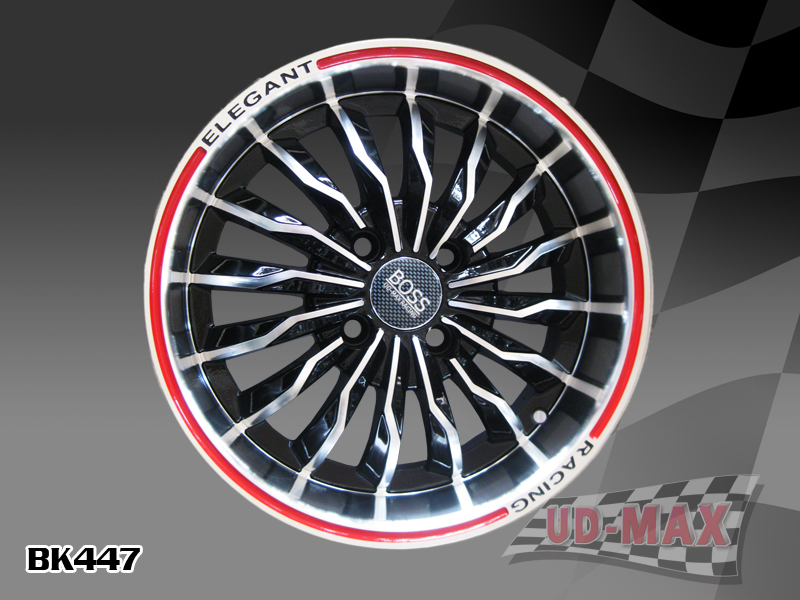 Other Max BK477 UPDATE color BLACK MACHINED FACE-RED LINE