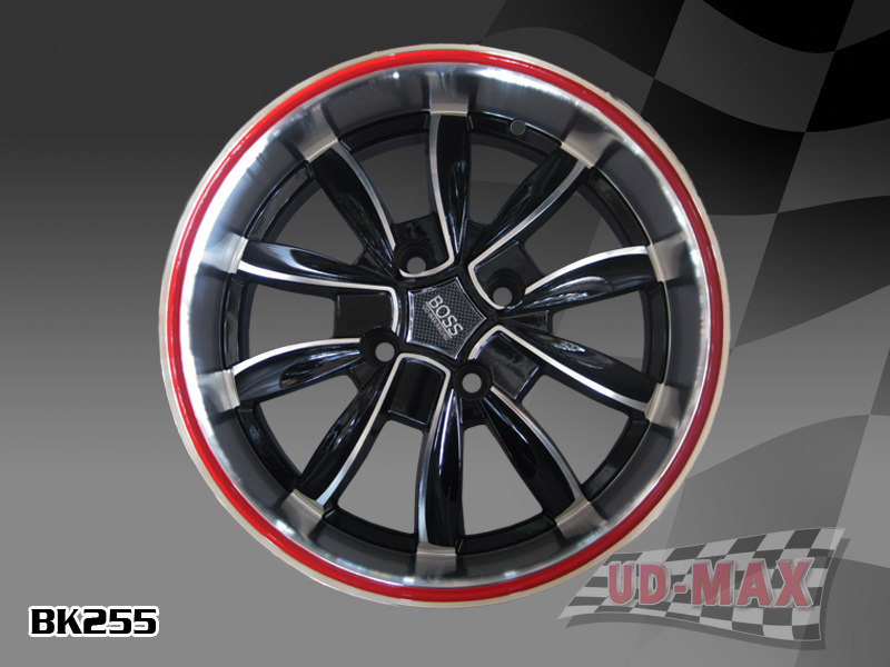 Other Max BK255 UPDATE color BLACK MACHINED FACE-RED LINE