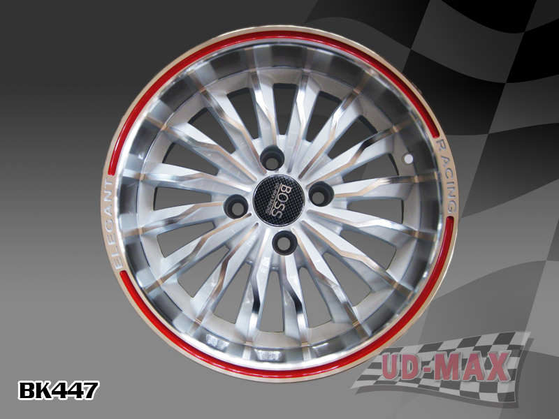 Other Max BK477 UPDATE color 35  WHITE  MACHINED FACE-RED LINE