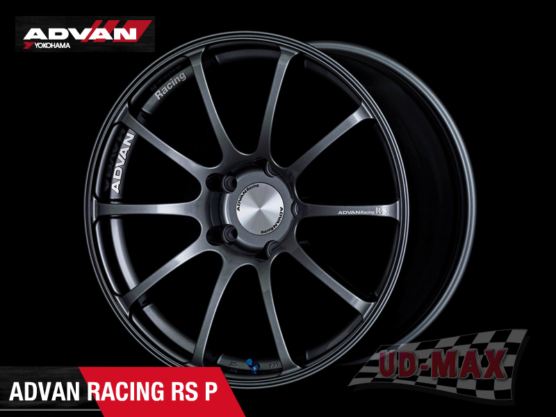 ADVAN RS P color black-tone Gun Metallic